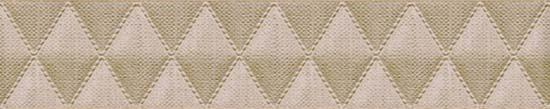 Бордюр Azori Illusio Beige Geometry 6,2х31,5